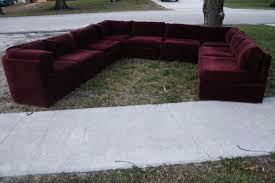 Vintage Sectional Sofa Milo Baughman For Thayer Coggin Tagged Nine Piece Sectional Sofa