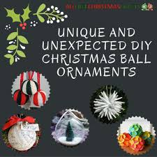 unique handmade christmas ornaments 17 unique and diy christmas ornaments