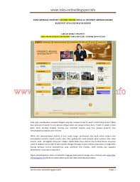 blogger atau blogspot cara berjualan property melalui blogspot atau google blogger toko onl