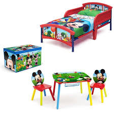Mickey Mouse Activity Table Disney Mickey Mouse Room In A Box With Bonus Table U0026 Chairs Set