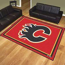 Nhl Area Rugs Calgary Flames Rug Mat Nhl Fan Apparel Souvenirs Ebay