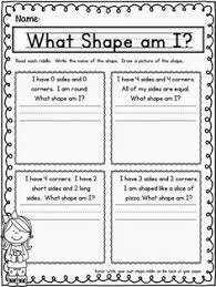 shapes with right angles geometry worksheets worksheets for