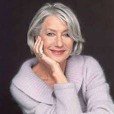 white hair over 65 15 flattering haircuts for older women helen mirren hair