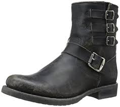 short black motorcycle boots amazon com frye women s veronica belted short sto moto boot