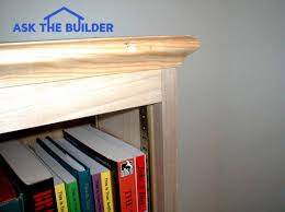Bookcase Shelf Support Tim U0027s Deluxe Bookcase Ask The Builderask The Builder