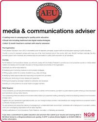 Resume For Ngo Job Ngo Recruitment Communications And Media Ngo Recruitment