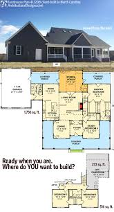 Farmhouse House Plans With Porches Plan 4122wm Country Home Plan With Marvelous Porches Farmhouse