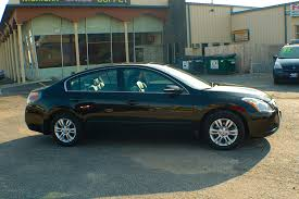 2010 nissan altima sl black sedan used car sale