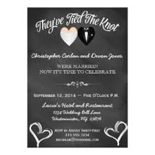 wedding invitation wording for already married post wedding invitations announcements zazzle