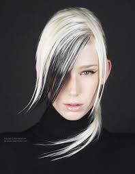 white and black hair color styles choice image hair color ideas