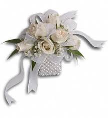 corsage wristlets white whisper wristlet corsage wedding flowers grays florist nj