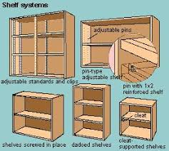 how to build a shelf unit plans diy free download make your own