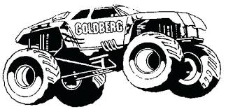 monster truck coloring pages grave digger jam u2013 vonsurroquen