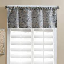 Bed Bath And Beyond Window Valances Buy Window Treatments Valances From Bed Bath U0026 Beyond
