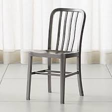 Metal Dining Chairs Metal Dining Chairs Crate And Barrel