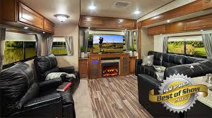 5th wheel with living room in front whats new new features by highland ridge rv