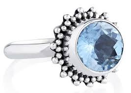silver topaz rings images Sterling silver india 92 5 blue topaz rings at rs 570 piece jpg