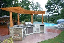 simple outdoor kitchen ideas simple outdoor kitchen designs marvelous backyard kitchen ideas