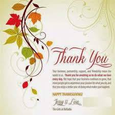 happy thanksgiving message business special day celebrations