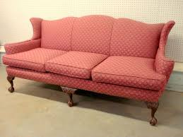 Chippendale Loveseat Chippendale Style Sofa With Carved Knees Claw And Ball Feet