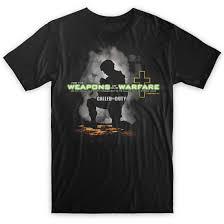 Spiritual Warfare Flags Weapons Of Our Warfare Christian T Shirt U2013 Sdashirts Com