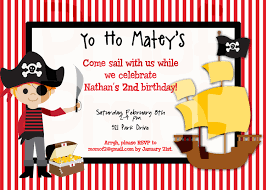 pirate birthday party invitations cloveranddot com