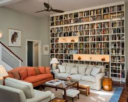 Living Room With Orange Sofa Orange Houzz