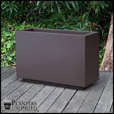 marek rectangular fiberglass planters planters unlimited