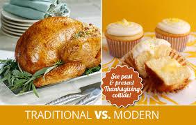 traditional vs modern thanksgiving