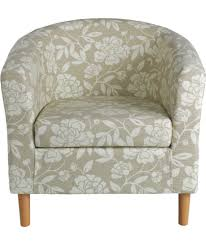 Bedroom Lounge Chairs Uk Buy Floral Tub Chair Natural At Argos Co Uk Your Online Shop