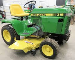 all about the john deere 318 one of the most popular lawn tractors