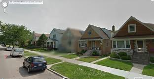 Google Maps Chicago Il by Google Street View Blurred House Google Street View World