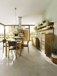 cottage kitchen furniture black wooden table ceramic tiles
