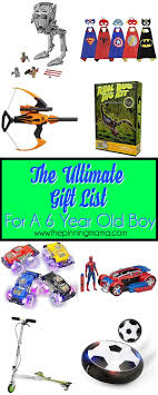 the ultimate gift list for a 6 year boy the pinning