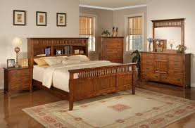 Bedroom Furniture Bookcase Headboard Bookcase Mission Style Bedroom Set Rooms