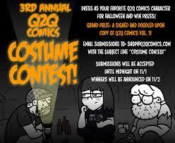 cartoon images of halloween q2q comics a webcomic about theatre tech updated mon wed fri