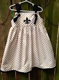 sophia dress gold polka dot fleur de lis on etsy 40 00 kid