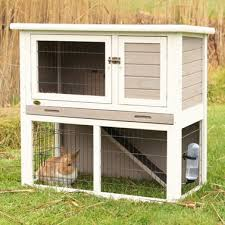 Rabbit Hutch Ramp Trixie Small Animal Hutch With Sloped Roof U0026 Reviews Wayfair