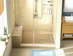 Bathroom Shower Pans Tile Shower And Tub Custom Bathroom And Tile Shower Tub