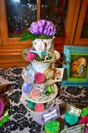 Mad Hatter Tea Party Centerpieces by Mad Hatter Tea Party Decorations Bridal Or Baby Shower Idea