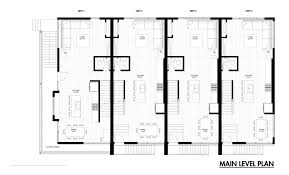 Architectural Plans For Houses Emerson Rowhouse Meridian 105 Architecture Archdaily