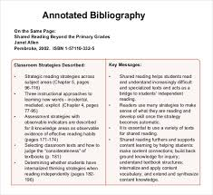 annotated bibliography quick