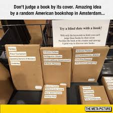 Blind Date Funny A Blind Date With A Book The Meta Picture