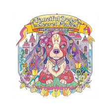 fanciful dogs secret places dog lover u0027s coloring book