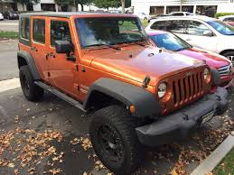 jeep orange vehicle color change black parrot