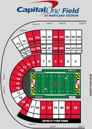 Umd Campus Map Stripe The Stadium Maryland Terrapins Athletics University Of