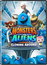 monsters aliens series dvd press release