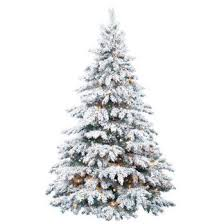 frosted christmas tree bring the feeling of a winter to your home with this
