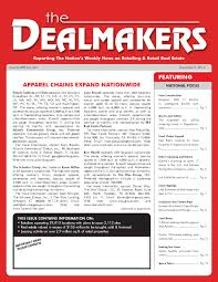 dealmakers magazine september 19 2014 by the dealmakers