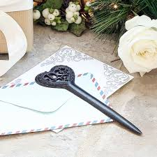 6th wedding anniversary gift ideas 6th wedding anniversary gift idea cast iron heart letter opener